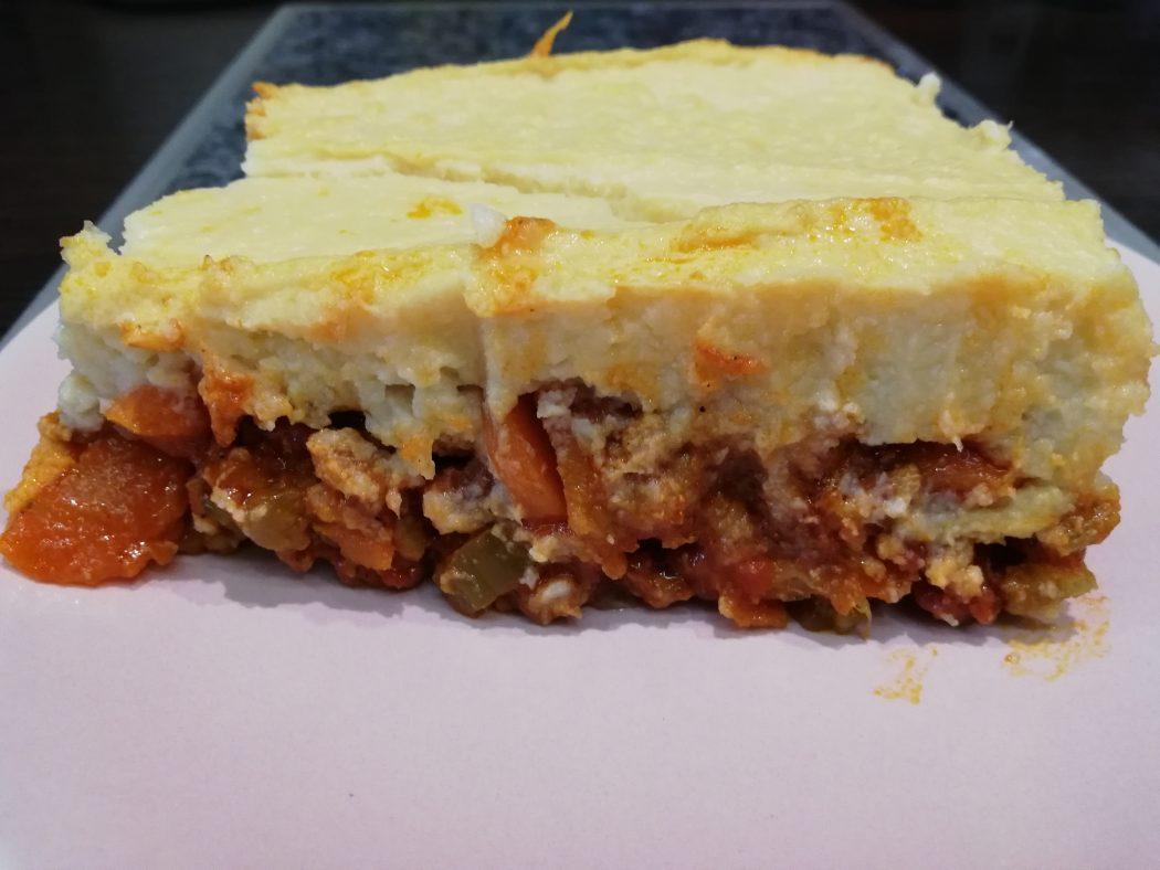 karfiolovy pastiersky kolac