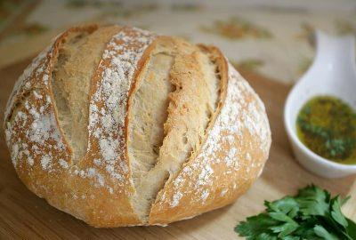 Chlieb z lievito madre